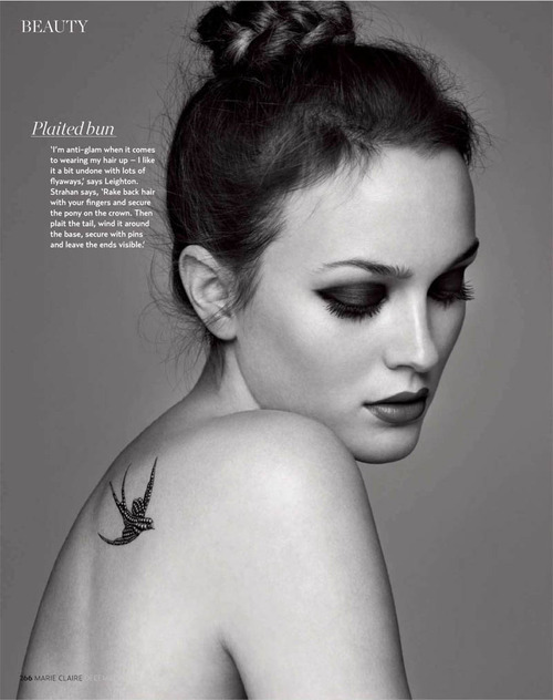they.call.them.celebrities - editorial leighton meester . marie claire uk