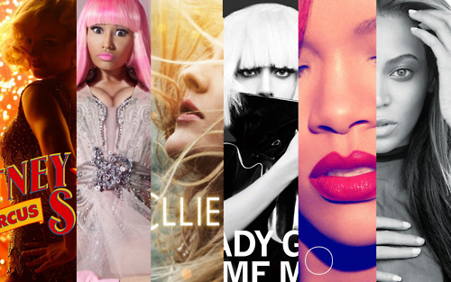 the WOMAN that GREATLY influences the MUSIC INDUSTRY of 2010  NICKI MINAJ-BRITNEY SPEARS-LADY GAGA- RIHANNA- BEYONCE! so whats your favorite ALBUM and SONG of 2010?