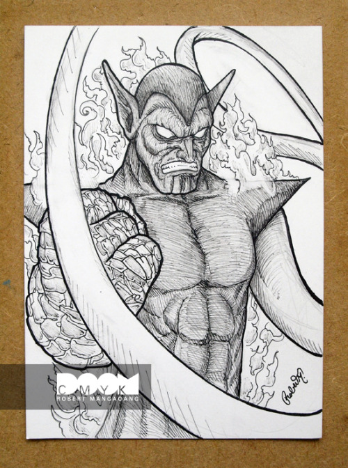 My Super Skrull 1 of 1 5x7 pencil/pen black and white drawing. I'll post my final colored version soon. Check out my work at http://doomsdaily.tumblr.com or http://doomcmyk.deviantart.com/gallery/