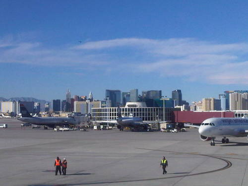 Farewell, Las Vegas.  I got $20 of your money; you got my Blackberry charger.  Let's call it a push.   —CM