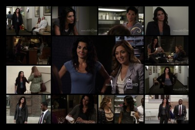 "Rizzoli & Isles ""She Works Hard for the Money"" 1x04 Jane Rizzoli ""fashion"""
