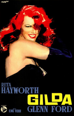 Rita Hayworth in Gilda, 1946