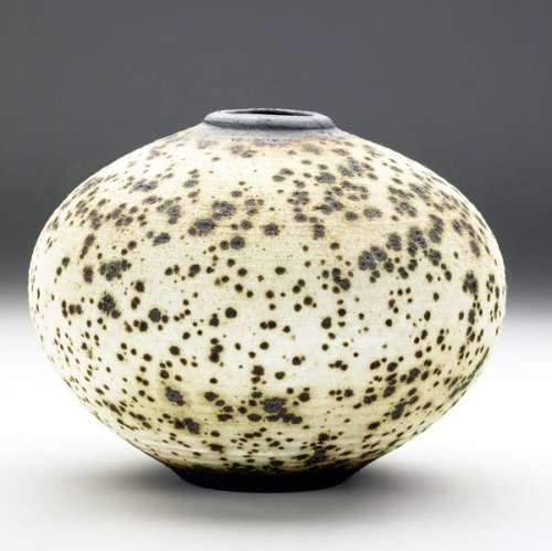 Vivika and Otto Heino: Vase in apple-ash glaze