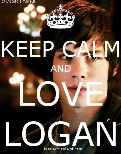 Keep calm and love Logan