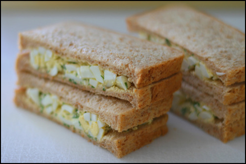 """egg salad sandwich"""