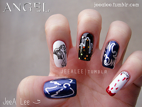 Angel NailsA Tribute To One Of My Favorite Shows!