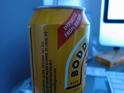 Boddingtons (by Brian Rosner)