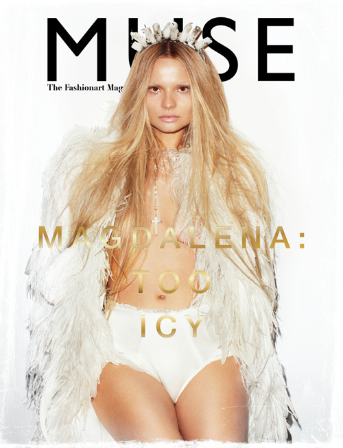 they.call.it.fashion - covers magdalena frackowiak . muse . december 2010
