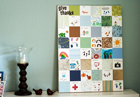 This would be a fun project with the grandchildren someday! :) pre-kteacher:  Thanksgiving Project – Paper Quilt I absolutely love this. We will do this. :)