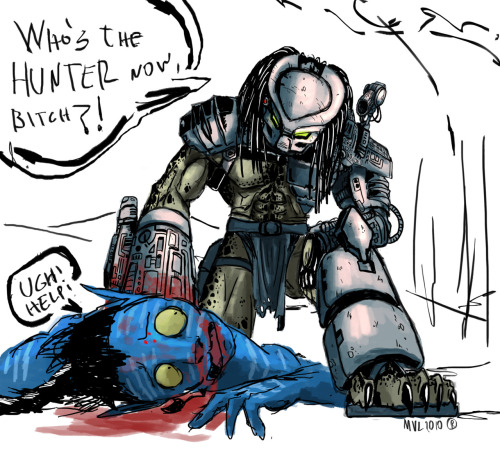 Predator  VS Avatar by *highdarktemplar on deviantART