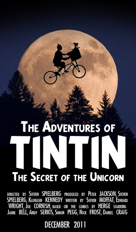 The Adventures of Tintin: The Secret of the Unicorn (2011) by Steven Spielberg this is a larger (and better) version of an old post of mine