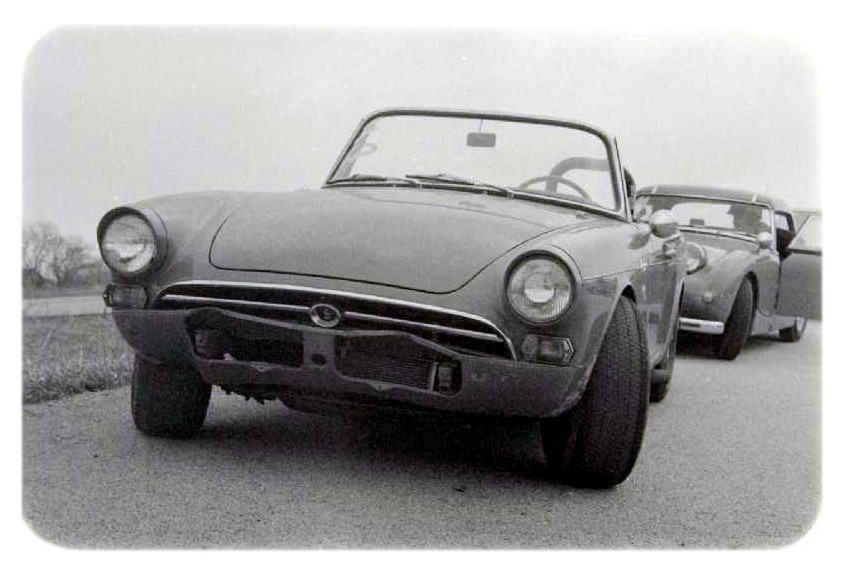 Sunbeam Alpine…. (and BugEye'd friend)