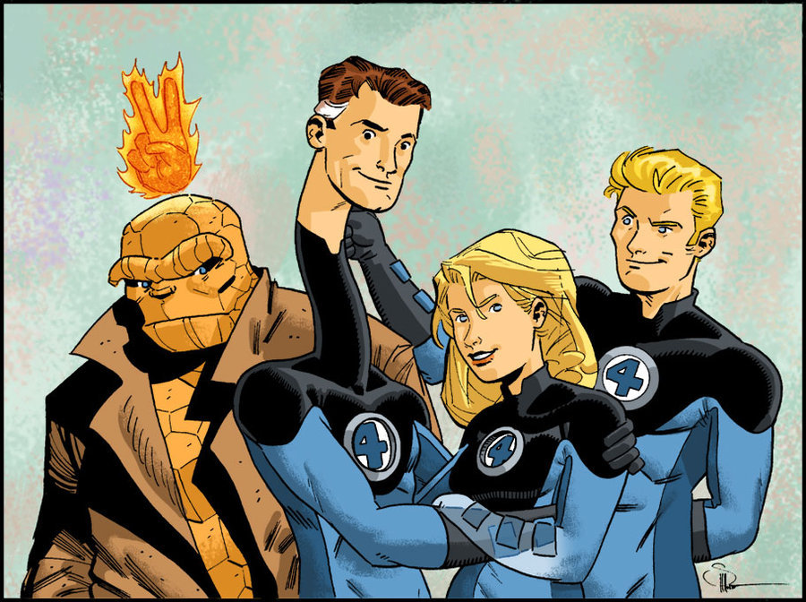 Fantastic Four by ~DocShaner