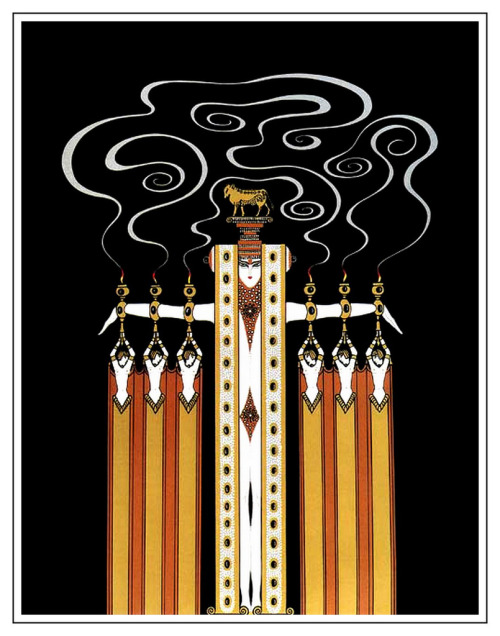 Erté, Golden Calf