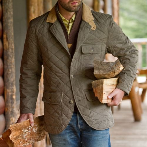 It's On Sale J.L. Powell Lakenheath Quilted Coat Your chance to jump on the quilted blazer bandwagon at an affordable price point. $179, originally $448 at JLPowell.com