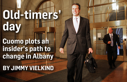 Jimmy Vielkind on Cuomo's inside-out approach to Albany.