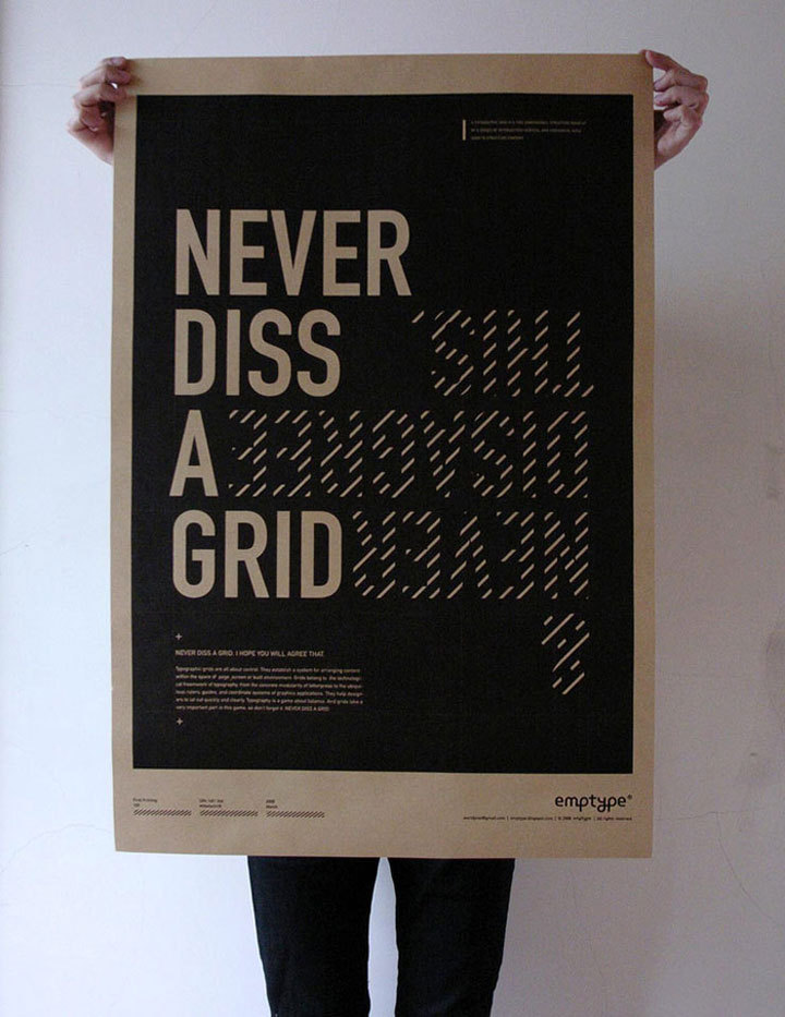 Never Diss A Grid by tenten Creative