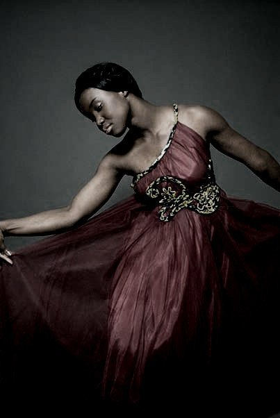 "kilele:  From Nigerian designer Nkwo's collection ""Afrocouture by Nkwo"" Photo by Mark Rowe"