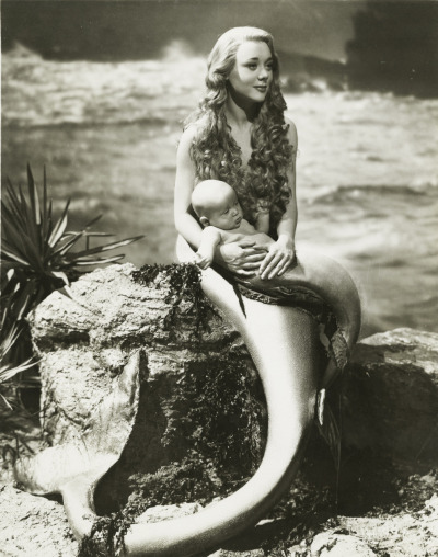 "I have always wanted to be a mermaid. Glynis Johns in ""Miranda"" 1948."