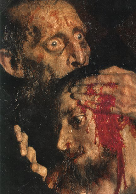"balsiek:  Il'ia Efimovich Repin: ""Ivan the Terrible and His Son Ivan: November 16, 1581"" (1885) Detail"
