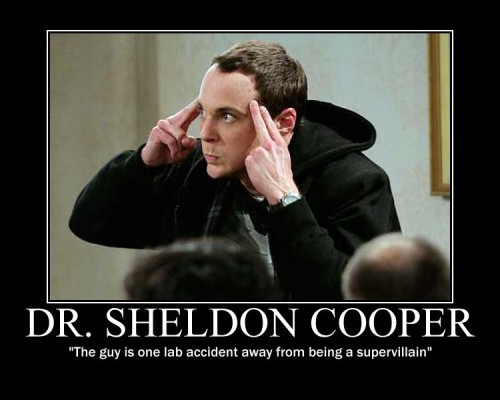 Sheldon Cooper, PhD
