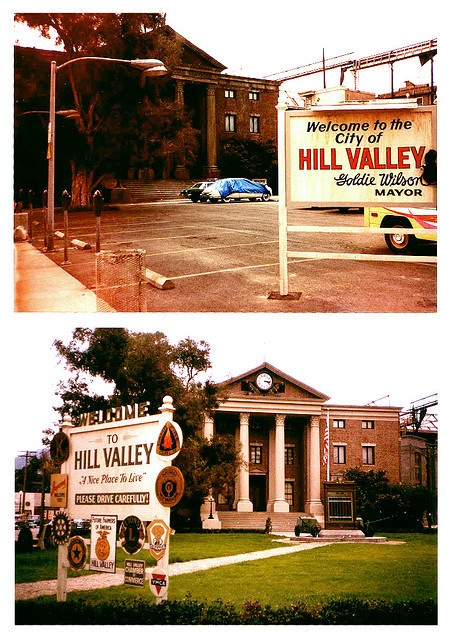 Courthouse Square 1985 / 1955 by Geith. See more Back to the Future set photos here.