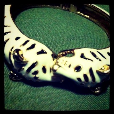 tiger bracelet (Taken with instagram)