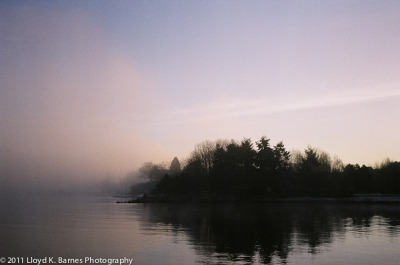 Foggy Morning (by Kalamakia - Lloyd K. Barnes Photography) Shot with an Olympus Trip 35 - vintage 35mm film camera.