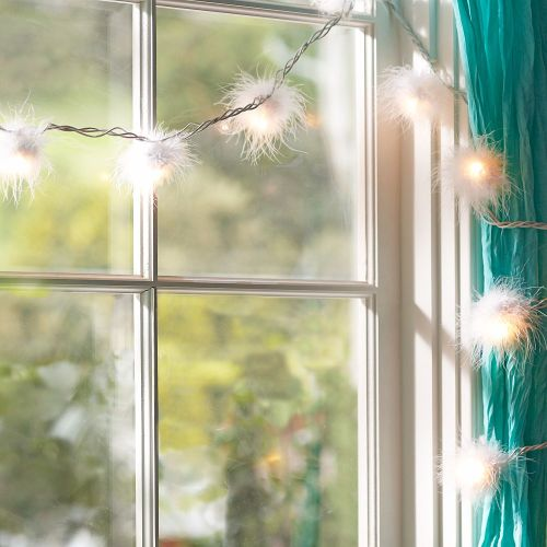 justbesplendid:  furry string lights (via)