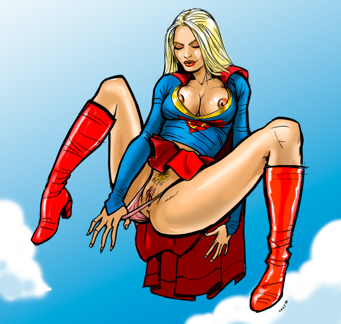 Let me be your Super Girl.. & I'll show you my super powers!     (ty TJ)