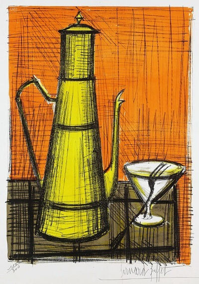 Bernard Buffet The Coffeepot 1955