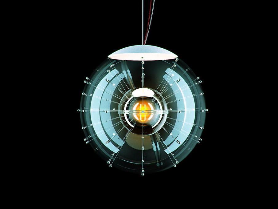 Visualisation of a designer lamp. The lamp was modeled and visualised according to sketches. The  customer was satisfied with my work and used the renders in  presentations.