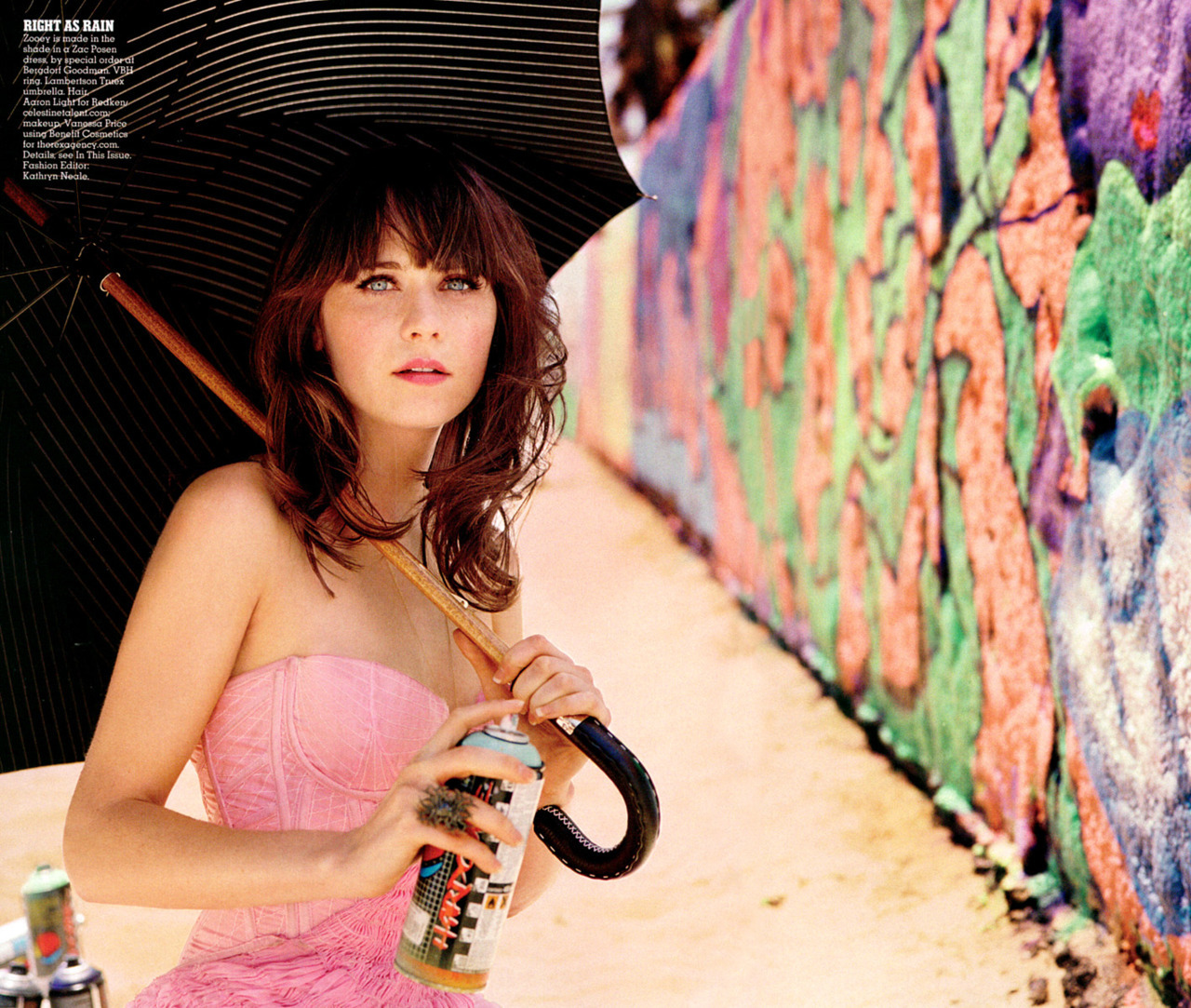 Zooey Deschanel - Vogue Supplement, September 2008