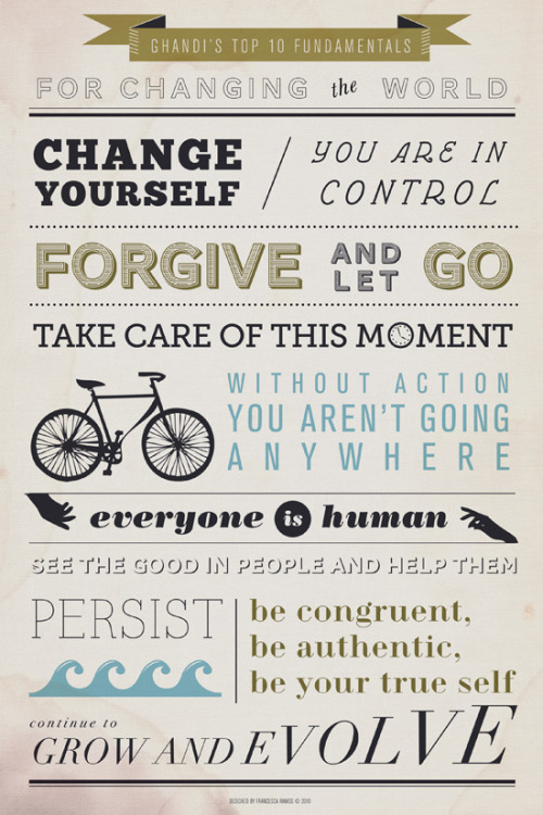 besottment by paper relics: Ghandi's Top 10 Fundamentals