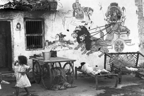 Ahmedabad, India, 1966 by Henri Cartier-Bresson