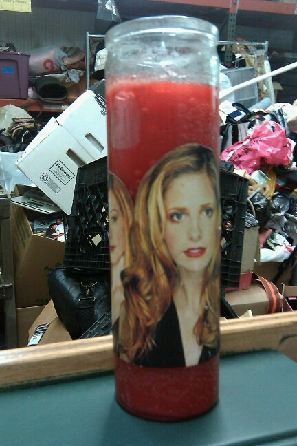 Buffy Santeria Candle