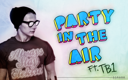 "This is a webposter I did for David A's new song called ""Party In The Air"" featuring TB1. To watch the videoclip, visit  www.youtube.com/watch?v=5fNcZa5RX6g"