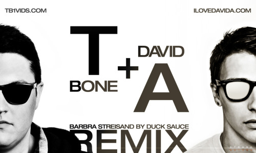 "Again, another webposter done for David A! This time, he remixed the popular song ""Barbra Streisand"", in collaboration with TB1. Check out their videoclip, it's pretty well done! www.youtube.com/watch?v=cagGtHtJMNo&feature=related"