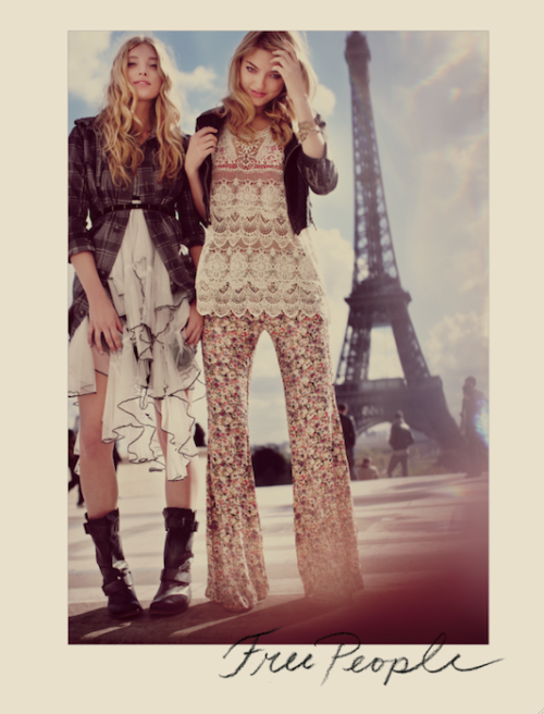 Free People in Paris