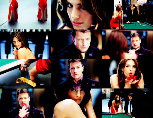 thequietworld:  ten reasons why castle is fabulous fucking tv | the promo department Okay, let's talk creativity. It was March 29, 2010, approximately 6:00pm mountain time. I remember it so clearly in my head because the premiere of this promo was perhaps the most fun I have had on Tumblr. It was also the most gay night I have ever spent on Tumblr. For a full five or six hours, my life consisted of Castle stans going completely gaybones right before my eyes and fandom exploded, as did senorwingman-, I am most certain. Honestly, it's hard to describe. Just go watch it. Dear lord, it's like the creative department dipped into the fandom pensieve or something.