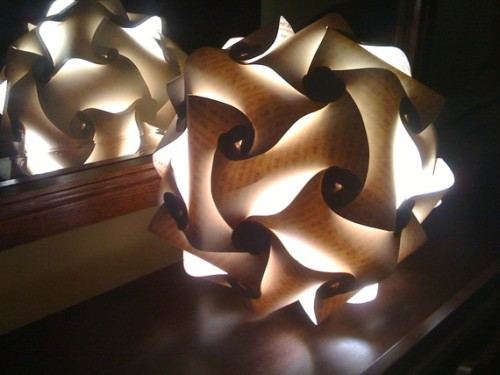 Yolo Text Tessellation Lantern by MTHarvey on Etsy