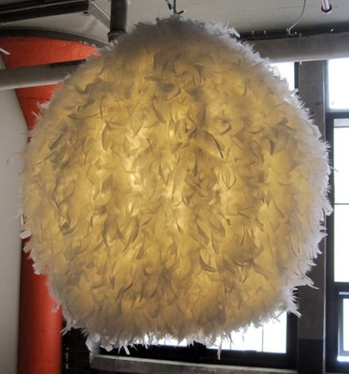 Large Feather Chandelier by miloshop on Etsy