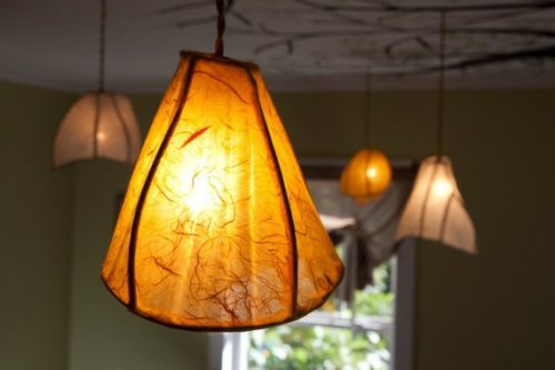 Single Camellia Pendant Lantern by Khalima on Etsy