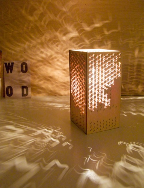 Laser cut Lamp Japanese Clouds by hannahchristie on Etsy