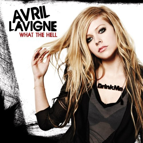 what the hell avril lavigne album cover