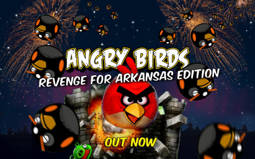 Blackbirds are dropping dead all over Arkansas. Angry Birds is coming to PS3. This parody is doing the rounds in true Urgent Genius style.