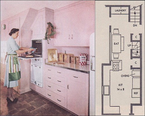 1951 RB Wills Pink Kitchen - Take 2 (by Rikki Nyman)