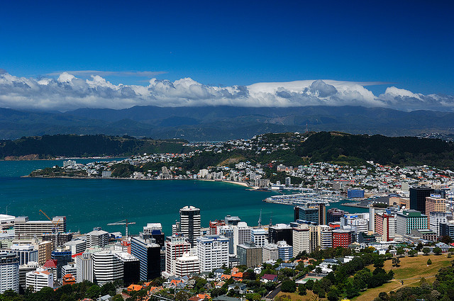 theworldwelivein:  Wellington City, New Zealand © Pieter Pieterse  New Goal: Get here.