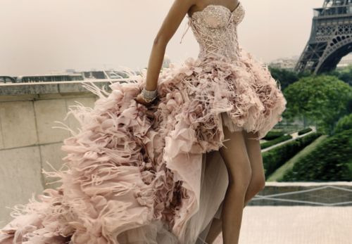 I always imagine about the kind of wedding dresses I will be wearing.
