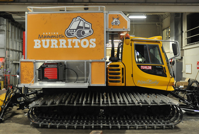 Roving Mammoth Off-Road Burrito Vehicle